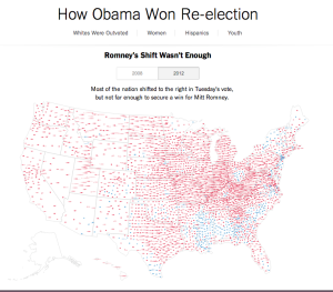 How Obama Won Re-election