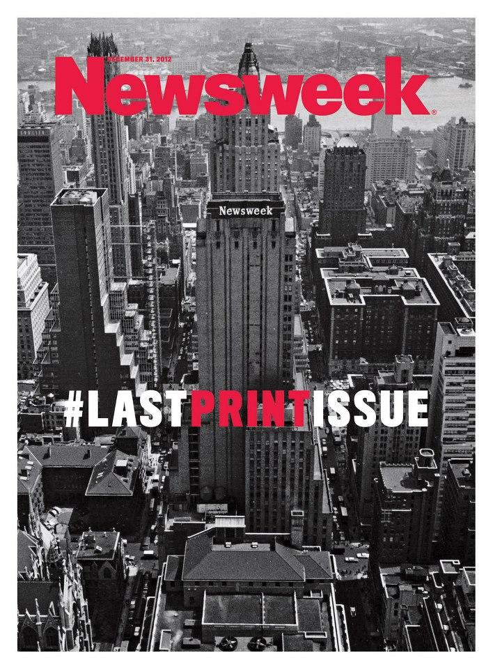 Newsweek, the final print cover
