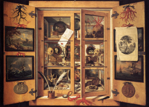 Domenico Remps, A Cabinet of Curiosity, 1690s